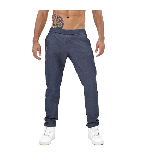 TOF Paris Cowboy Pants Dark Blue