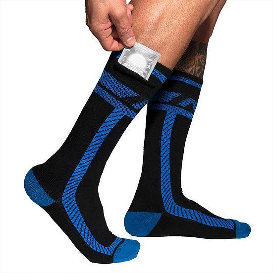 Addicted - Pockets Fetish Long Socks ADF109