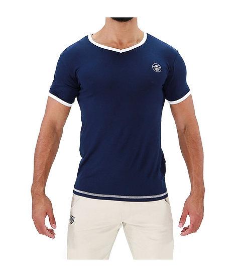TOF Paris Hola T-Shirt Navy Blue
