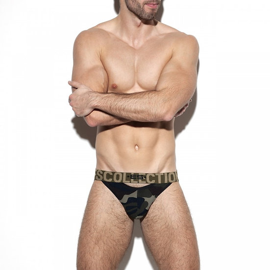 ES Collection - Double Opening Mesh Jock