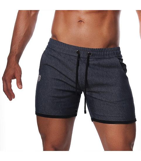 Cowboy Long Shorts Dark Blue Denim