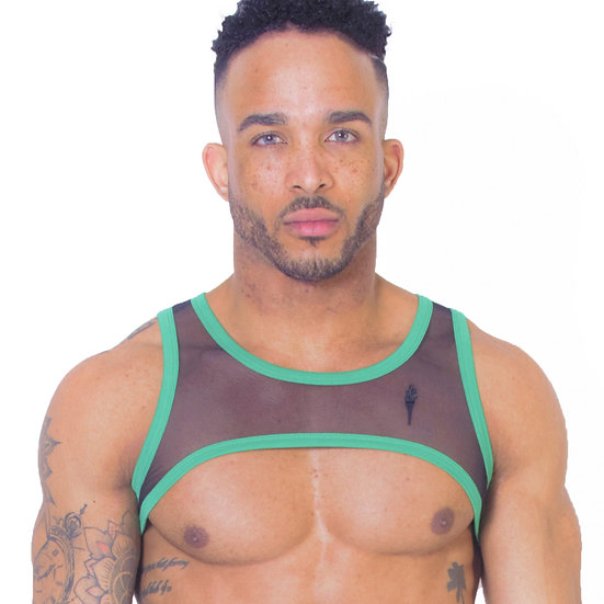 Leader - Warrior Harness Green