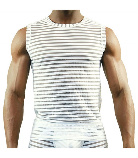 Tof Paris Apollon Tank Top White