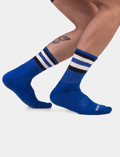 Barcode Berlin - Half Fetish Socks Stripes