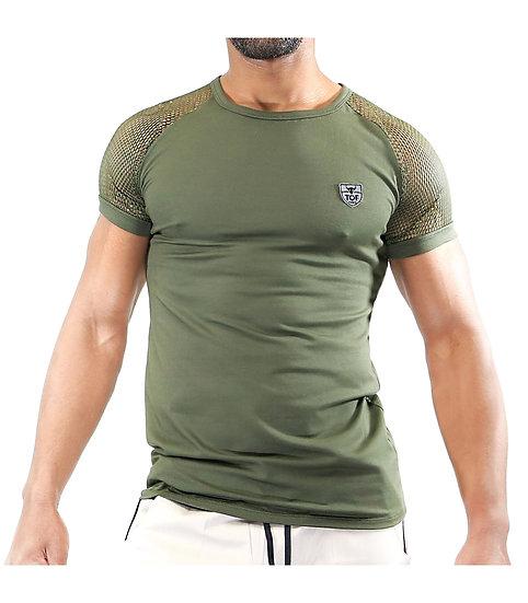 Tof Paris Davio T-shirts Khaki