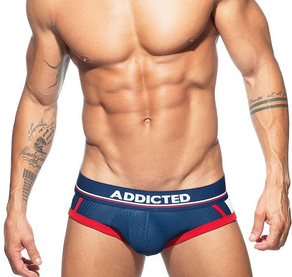 Addicted -  Open Short Mesh Brief AD740