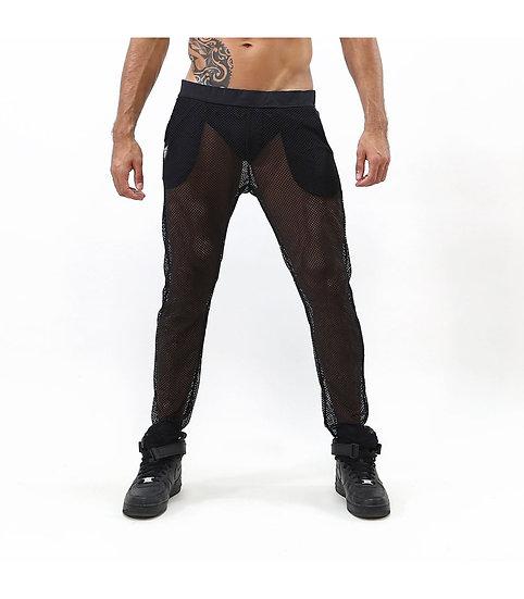 TOF Paris Ibiza Mesh Pants Black