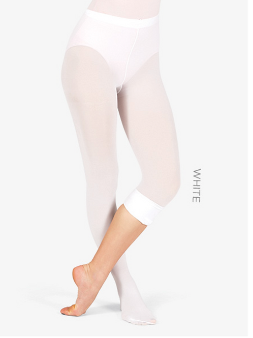 Theatricals Adult Convertible Tights with Smooth Self-Knit Waistband