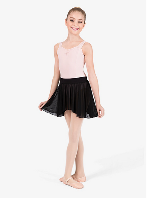 Theatricals Child Pull-On Skirt- Black