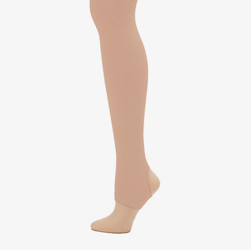 Capezio Adult Ultra Soft Self Knit Waistband Stirrup Tights