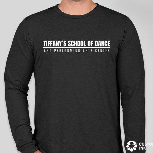 Adult Black Long Sleeve T-Shirt