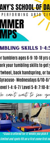 Tumbling Skills