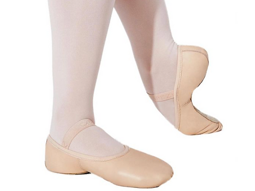Capezio Lily Leather Full Sole Child