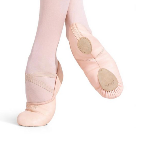 Capezio Cobra Leather Split Sole