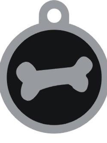 Bone Deluxe Enameled Pet Tag 22mm Small Only