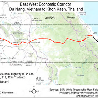 Increased Accessibility, Landscape Changes, Rural Transformations, and Urbanization: Impacts of the East-West Economic Corridor from Da Nang, Vietnam, to Khon Kaen, Thailand  (CSU)