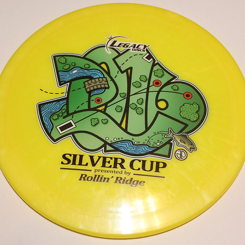 2016 Legacy Icon Enemy - Full Color Hole 16 White/Yellow