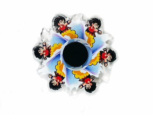 Spinner Moving character