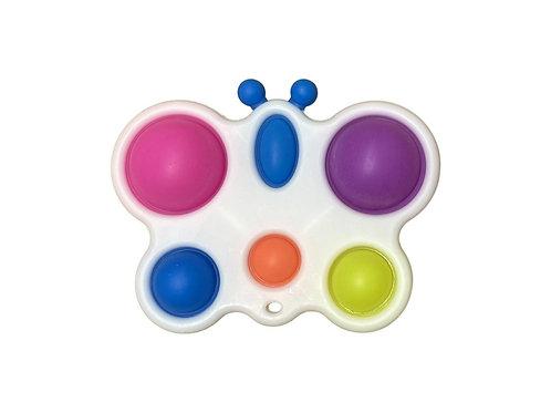 pop it Plastic Butterfly 6 eyes