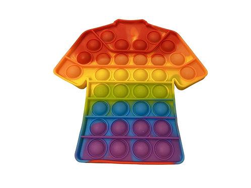 Pop It Rainbow color T-shirt