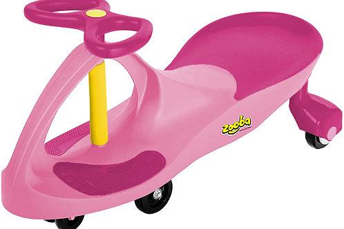 Bingo Zooba Swing Car Pink/Drak Pink