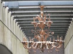 Chandelier under Amersfoort Bridge