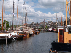 Traditional Boats in Spakenburg