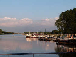 Peaceful Doesburg Harbour