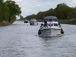 Linssen Flotilla at Easter