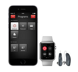 iPhone smart hearing aids