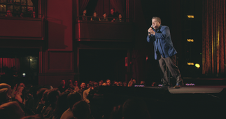 """Patton Oswalt in Netflix special """"Talking for Clapping"""""""