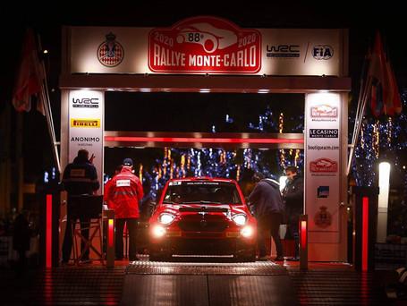 Rallye Monte Carlo 2020 Etape 1