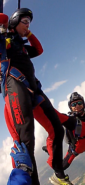 stage de saut en parachute
