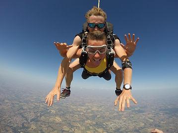 parachute tandem la Roche sur Yon