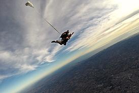 baptème parachute tandem la Roche sur Yon