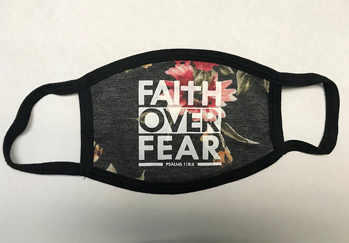 Faith Over Fear (Floral Design)