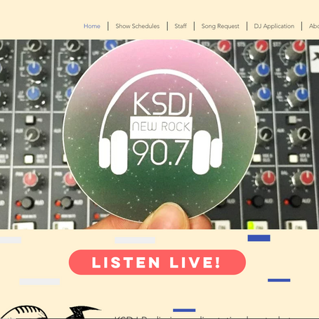 A Whole New Look for KSDJ