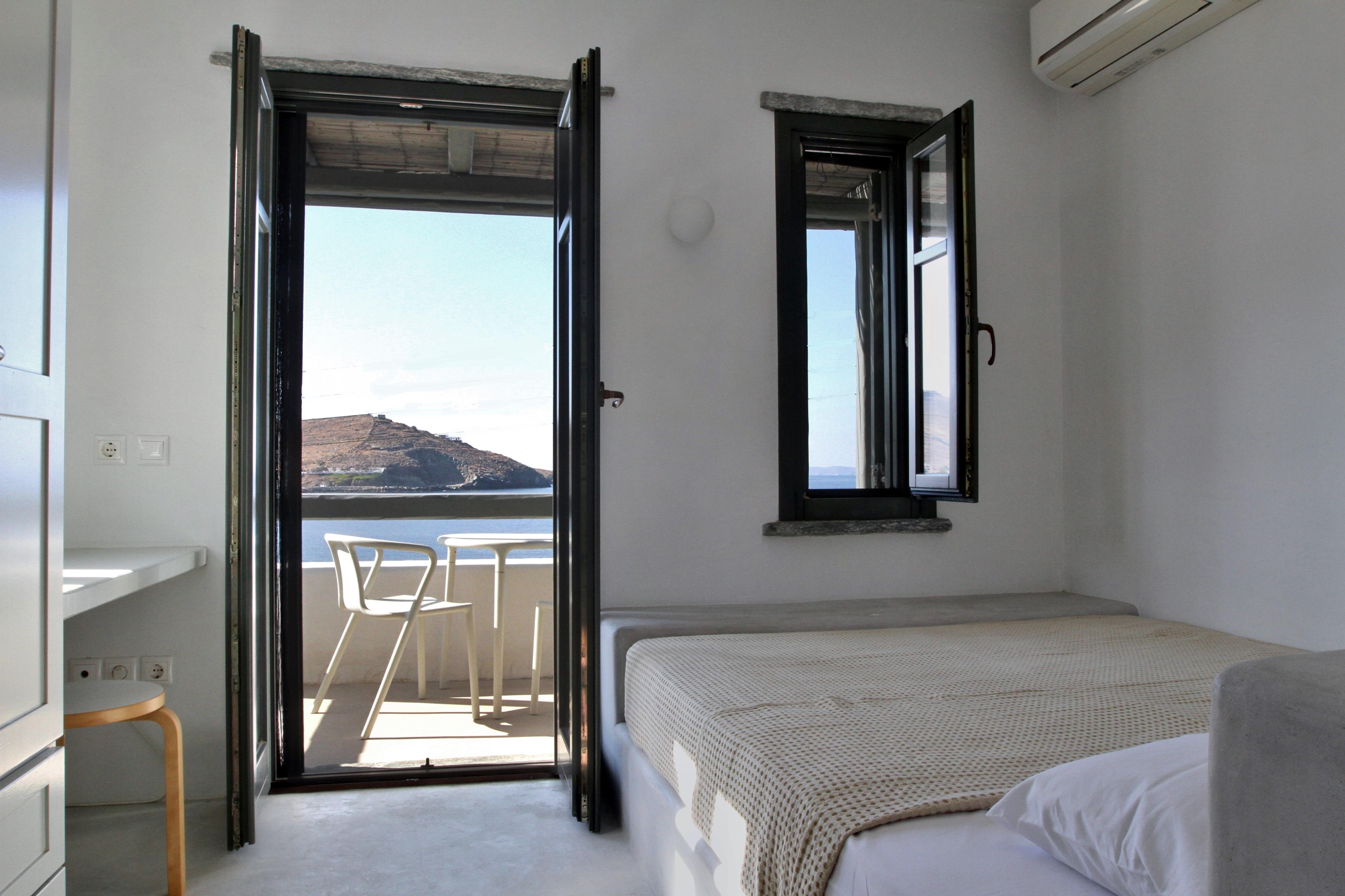 Υπνοδωμάτιο με θέα