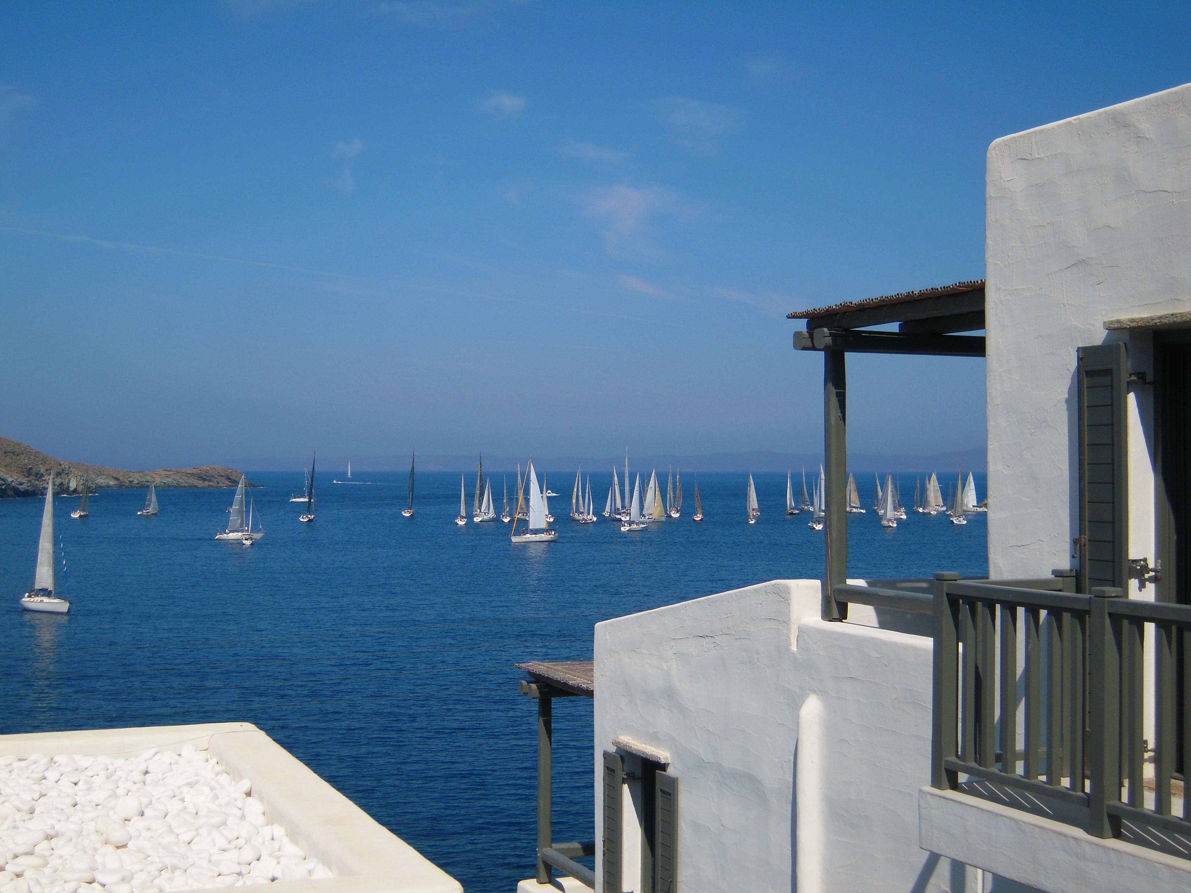 Θέα θάλασσα από συγκρότημα