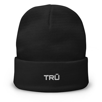 TRÜ Embroidered Beanie