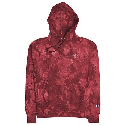 TRÜ Diamond Life tie-dye hoodie