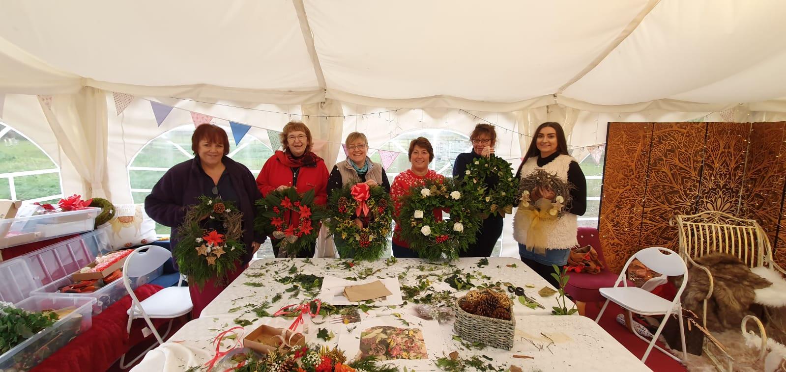 Wreath-making workshops