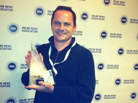'Middle East Voices' Wins Online Journalism Award