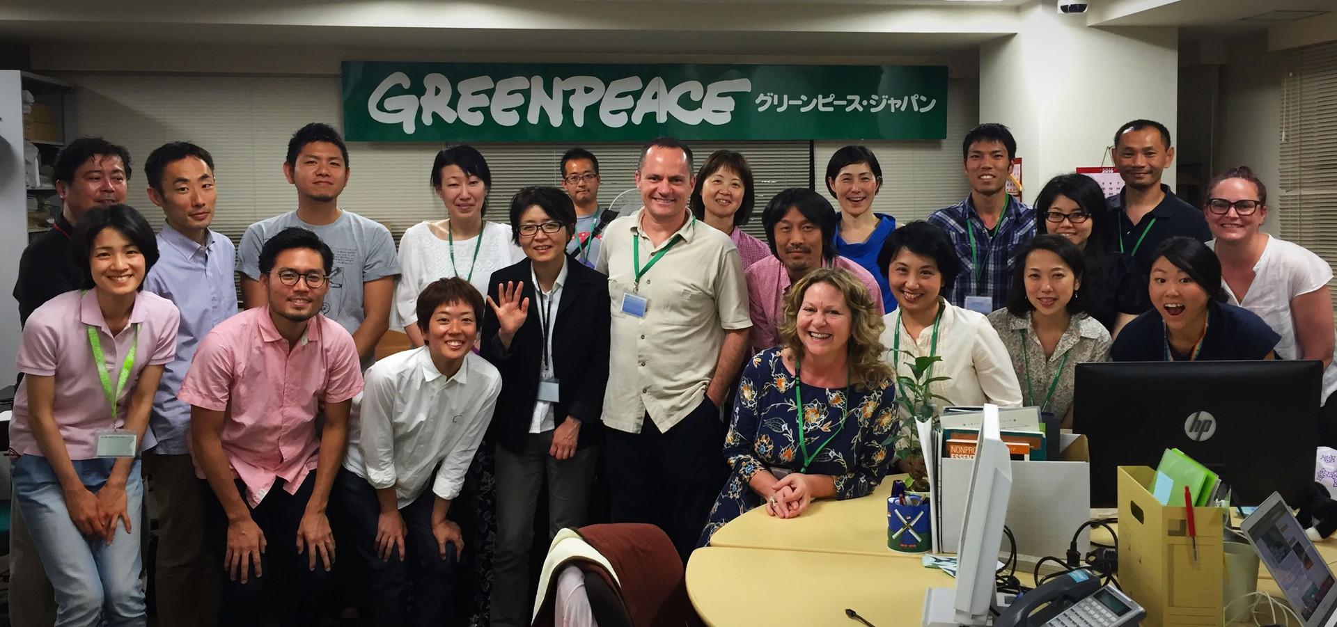 Working with Greenpeace Japan