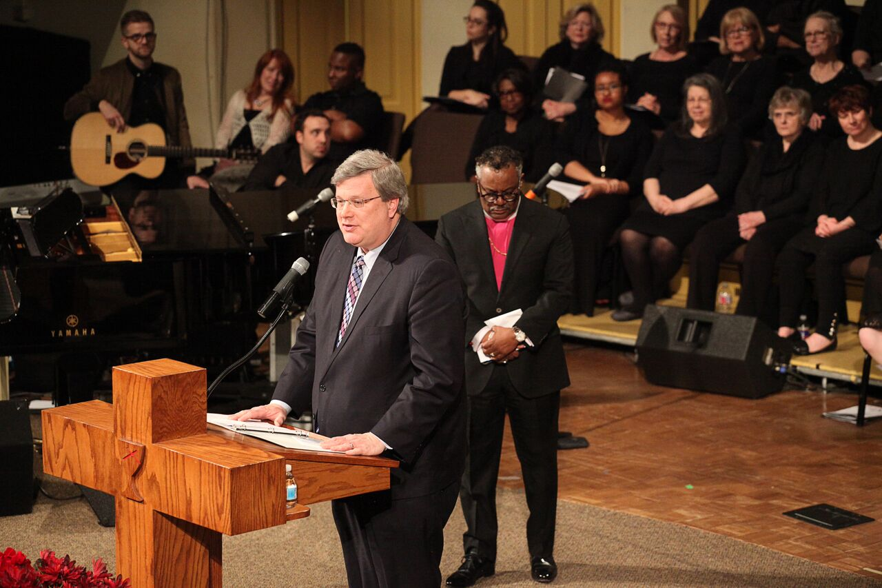 City Mayor Jim Strickland