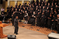Jubilee Choir under the direction of Marque Walker