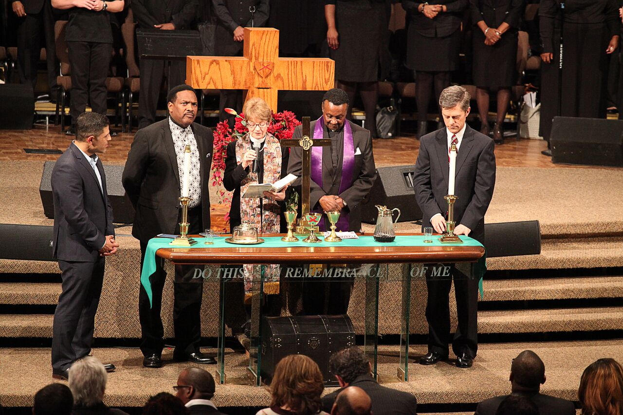 Jubilee Commuion - Rev. Dr. Melvin Smith, Rev. Susan Wiggings, Rev. Dr. Sean Lucas, Rev. Ricky Floyd
