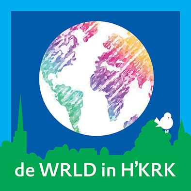 Logo De wereld in Heemskerk
