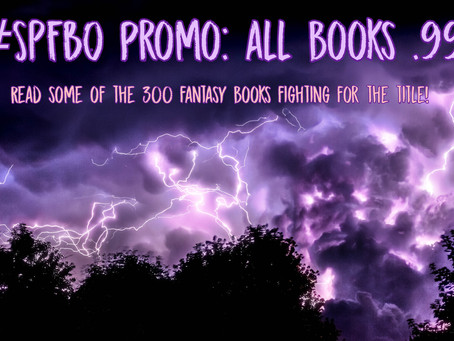 300 Books Enter, 1 Book Leaves... #SPFBO Promo!