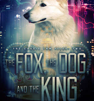 Cassie Tam Files #2 - The Fox, The Dog, and The King -- tech-noir at it's best from Matt Doyle